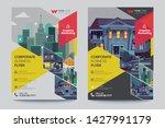 corporate business flyer poster ... | Shutterstock .eps vector #1427991179