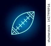 american football  ball outline ...