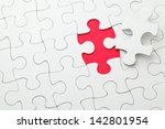 Puzzle With Missing Piece In...