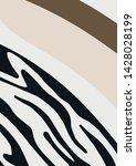 liquid abstract shapes. vector...   Shutterstock .eps vector #1428028199