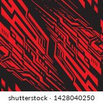 modern abstract seamless... | Shutterstock .eps vector #1428040250