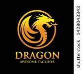Creative Golden Dragon Circle...