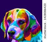 Cute And Adorable Beagle Dog...