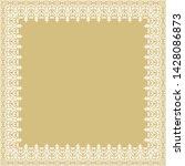 classic vector square white...   Shutterstock .eps vector #1428086873