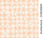 childish seamless pattern with... | Shutterstock .eps vector #142818604