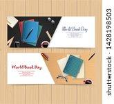 world book day banners template | Shutterstock .eps vector #1428198503