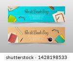 world book day banners template | Shutterstock .eps vector #1428198533