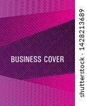 geometric banner flyer... | Shutterstock .eps vector #1428213689