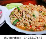 thai food made with pork  laab... | Shutterstock . vector #1428217643