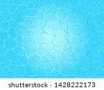 swimming pool water caustics... | Shutterstock .eps vector #1428222173