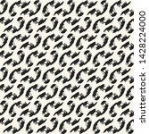 monochrome diagonal ornamental... | Shutterstock .eps vector #1428224000