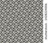 monochrome diagonal irregular... | Shutterstock .eps vector #1428224006
