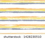 hand drawn paint stripes fabric ... | Shutterstock .eps vector #1428230510