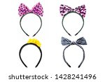 collection of headband or hair... | Shutterstock . vector #1428241496