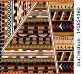 indian seamless pattern   Shutterstock .eps vector #142824160