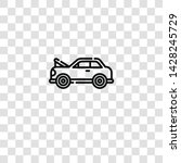damage icon from car garage...   Shutterstock .eps vector #1428245729