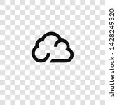 cloud icon from miscellaneous... | Shutterstock .eps vector #1428249320