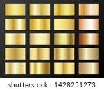 gold and bronze gradients... | Shutterstock .eps vector #1428251273