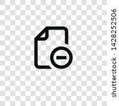 file icon from miscellaneous... | Shutterstock .eps vector #1428252506