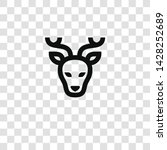 deer icon from miscellaneous... | Shutterstock .eps vector #1428252689