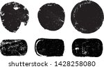 grunge post stamps collection ... | Shutterstock .eps vector #1428258080