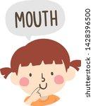 illustration of a kid girl... | Shutterstock .eps vector #1428396500