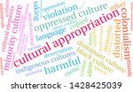 cultural appropriation word... | Shutterstock .eps vector #1428425039