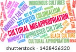 cultural misappropriation word... | Shutterstock .eps vector #1428426320