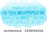 cultural misappropriation word... | Shutterstock .eps vector #1428426326