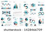 template  chart  data... | Shutterstock .eps vector #1428466709