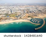 Ashdod city and the Marina, Israel - Aerial View