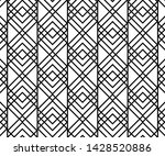 geometric abstract pattern... | Shutterstock .eps vector #1428520886