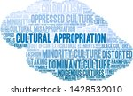 cultural appropriation word... | Shutterstock .eps vector #1428532010