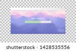 loading process screen.... | Shutterstock .eps vector #1428535556