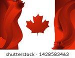 canada s flag emblem. symbol of ...
