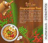 asean national food ingredients ...   Shutterstock .eps vector #1428609056