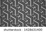 abstract geometric pattern with ... | Shutterstock .eps vector #1428631400