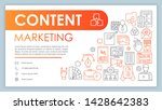 content marketing banner ...