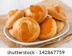 cookies on the white dish | Shutterstock . vector #142867759