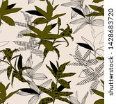 seamless pattern  in vector... | Shutterstock .eps vector #1428683720