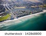 aerial view of milnerton beach... | Shutterstock . vector #142868800