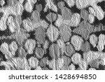 crumpled foil. dirty art metal...   Shutterstock . vector #1428694850