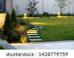 Backyard Of The Mansion With A...