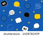 seamless background with flag...   Shutterstock .eps vector #1428782459