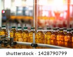 production line of juice on...   Shutterstock . vector #1428790799