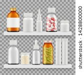 drugs  medications packaging... | Shutterstock .eps vector #1428800000