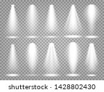 vector spotlight set. bright... | Shutterstock .eps vector #1428802430