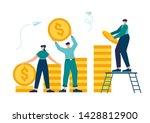vector illustration  investment ...   Shutterstock .eps vector #1428812900