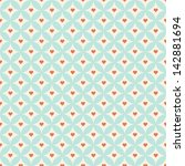 retro geometric seamless pattern | Shutterstock . vector #142881694