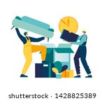 vector illustration of a... | Shutterstock .eps vector #1428825389